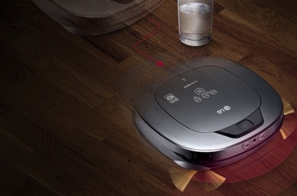 Отдыхайте, а об уборке дома позаботится умный робот-пылесос LG Hom-Bot Square