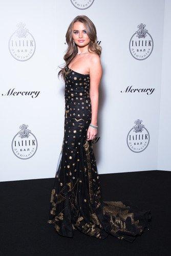 Дочь министра энергетики Алина Новак стала звездой бала журнала Tatler