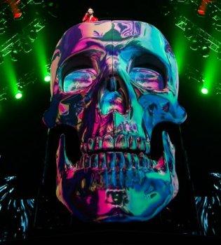 Макс Барских потратил 40 тысяч долларов на череп для концерта (фото)