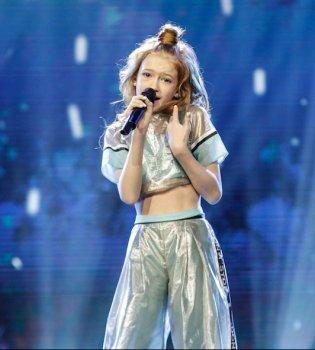 Украина вошла в десятку лучших на детском «Евровидении» (фото)