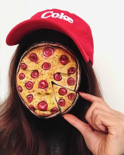 Junk food-мейк: «аппетитный» макияж, который вы никогда не видели