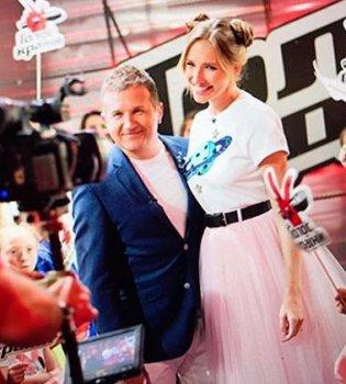 Редкий случай: Юрий Горбунов опубликовал общее фото с женой Катей Осадчей (фото)