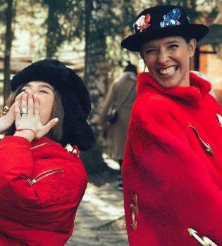 Две гуцулки: Катя Осадчая и Мария Яремчук оторвались в Карпатах (фото)