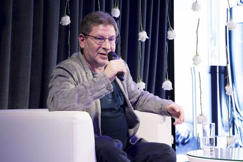 Михаил Лабковский рассказал знаменитостям, от чего зависит счастье