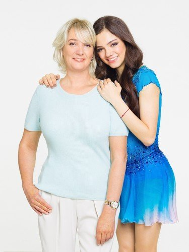 Фигуристка Евгения Медведева и ее мама присоединились к кампании «Спасибо, мама!»