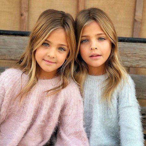 Самые красивые в мире девочки-близняшки покоряют модельный бизнес