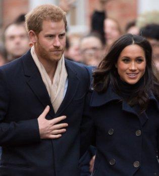 Принц Гарри и Меган Маркл приехали на рождественский ланч королевы Елизаветы II