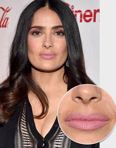 Сами с усами: Сальма Хайек, Кейт Аптон, Селена Гомес и еще 12 звезд с растительностью на лице