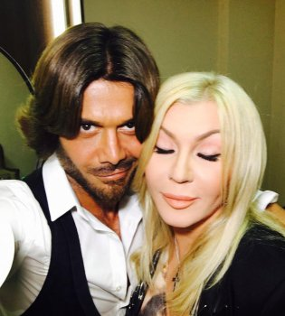 Ирина Билык и Аслан Ахмадов отпраздновали 2-летие сына Табриза (фото)