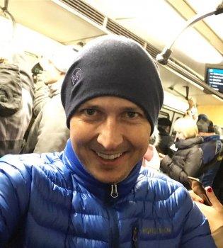 Киевское метро — офигенное! Саша Педан впервые за 5 лет проехался в метро