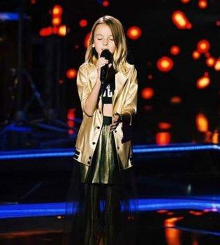 Победительница шоу Голос.Діти 4 поблагодарила украинцев: Спасибо, что поверили в меня