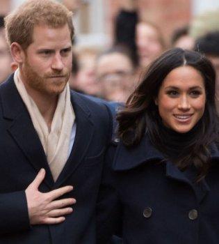 Влюбленные и стильные: принц Гарри и Меган Маркл впервые вышли в свет после помолвки (фото)