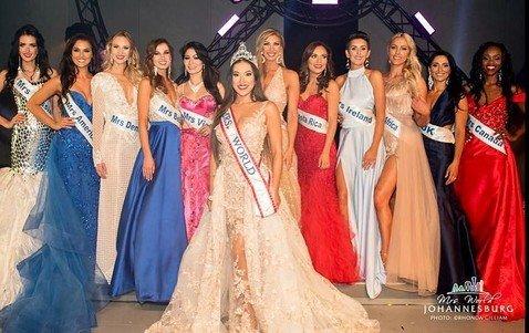 В конкурсе «Миссис Мира 2017» победила участница из Гонконга, а россиянка вошла в 12 лучших