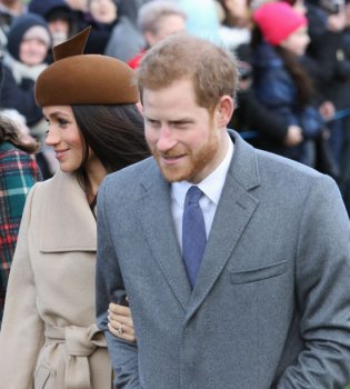 Принцы Уильям и Гарри появились на публике с супругами Кейт Миддлтон и Меган Маркл (Фото)