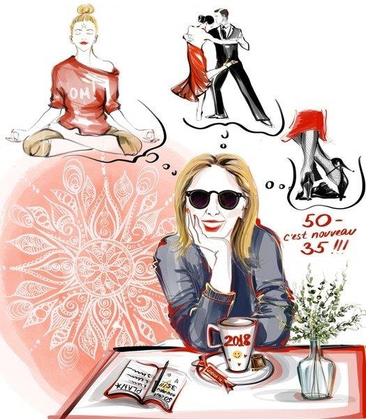 Татьяна Рогаченко для Woman.ru: танго, медитация и другие способы стать счастливой и развиваться в новом году