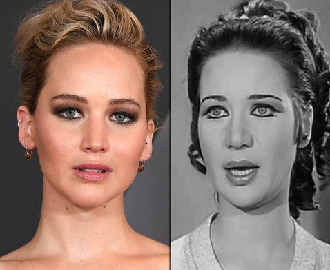 Взрыв из прошлого: знаменитости, невероятно похожие на исторических личностей