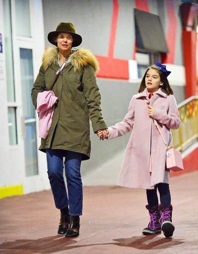 39-летняя Кэти Холмс стала напоминать бабушку собственной дочери