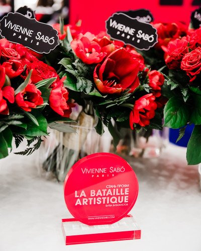 В Москве прошла битва визажистов La bataille artistique Vivienne Sabo и «Л'Этуаль»