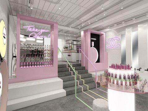 Парфюмерно-косметический бутик Chanel в форматеpop-up возвращается на Патриаршие пруды