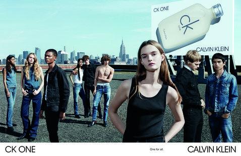 Calvin Klein представил новую рекламную кампанию аромата CK One