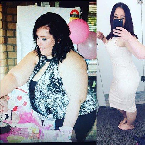 Девушка похудела на 96 кг, после того как не смогла пристегнуться двумя ремнями безопасности в самолете