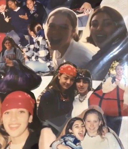 Ким Кардашьян не постеснялась опубликовать юношеские снимки, выдавшие ее любовь к пластике