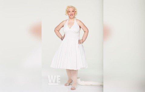 Похудевшая на 136 кг Мама Джун удивила поклонников фотосессией в стиле Мэрилин Монро