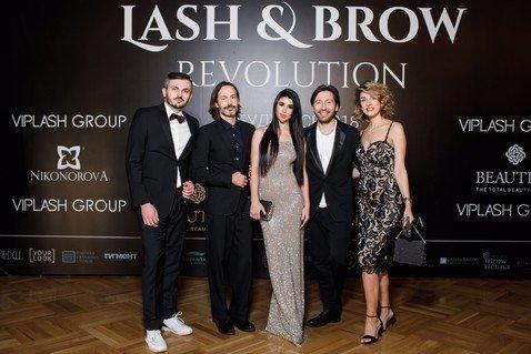 Звездные гости на церемонии награждения премии Lash Beauty Awards
