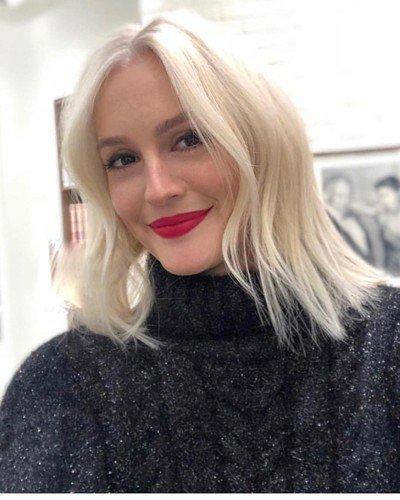 Лейтон Мистер перекрасилась в платиновую блондинку и стала настоящей секс-бомбой