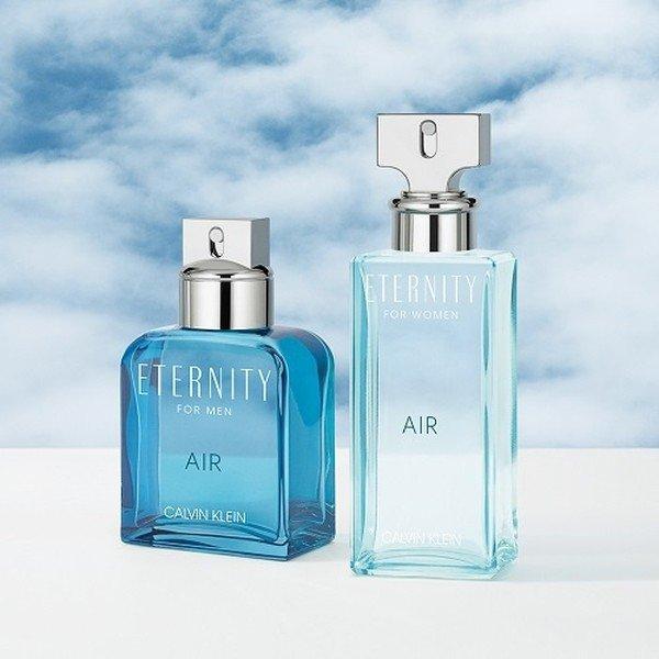 Любовь с первого вздоха: ароматы для нее и для него Eternity Air, Calvin Klein