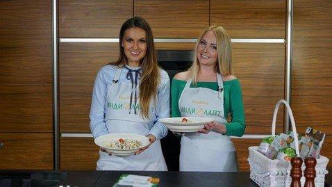 Дарья Пынзарь и Юлия Колядина научили готовить индейку