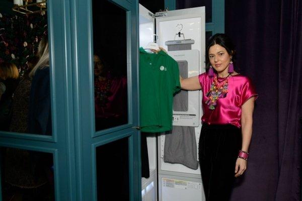 Евгения Жданова представила уникальный проект Welcome to the jungle с бытовой техникой  LG