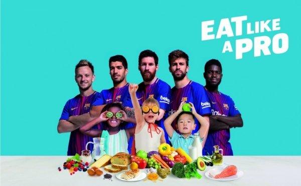 Компания БЕКО представила программу здорового образа жизни совместно с футбольным клубом «Барселона»