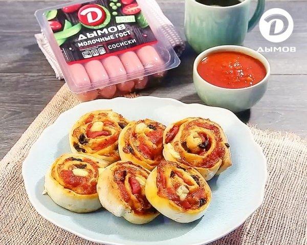 Готовьте аппетитные закуски вместе с «Дымов»