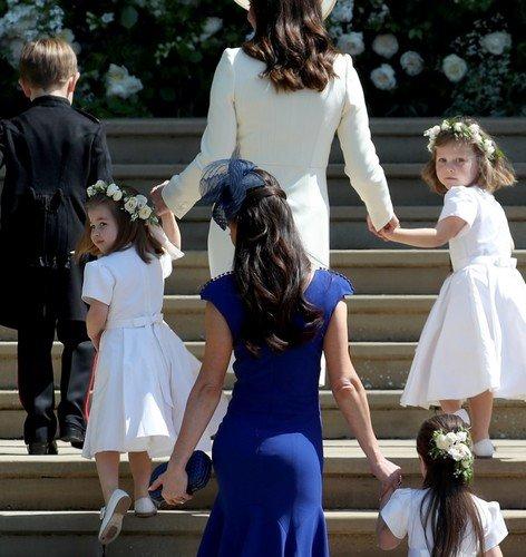 Кто показал самые аппетитные ягодицы на свадьбе принца Гарри и Меган Маркл