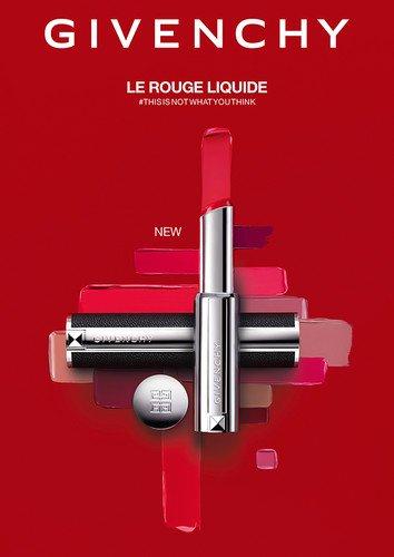 Givenchy выпустил новую помаду для губLe Rouge Liquide