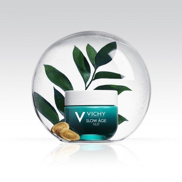 Глоток свежего воздуха для вашей кожи: ночная крем-маскаSlow Age, Vichy