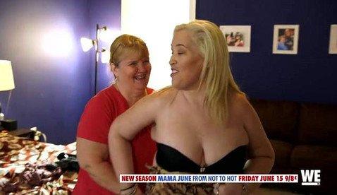 Похудевшая на 136 килограммов Мама Джун начала снова набирать вес