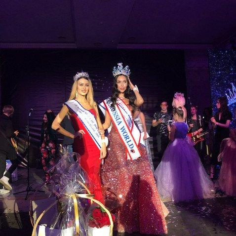 Супруга самарского миллиардера Ксения Царицына стала победительницей конкурса красоты