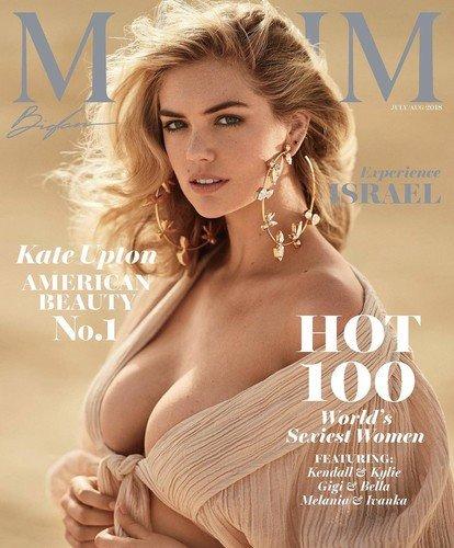 Кейт Аптон признана самой сексуальной женщиной в мире