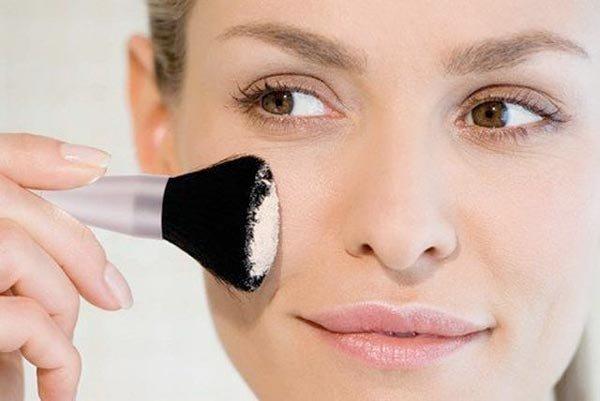 Минеральная пудра для макияжа