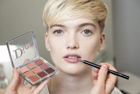 Как создавался бьюти-образ моделей с показа Dior Haute Couture