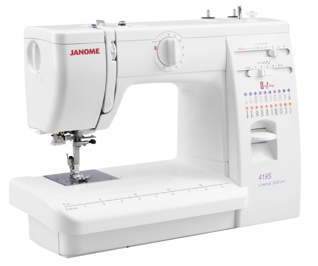 Электромеханические швейные машины JANOME