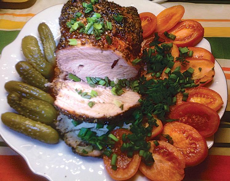 Как приготовить восхитительное запеченное мясо.