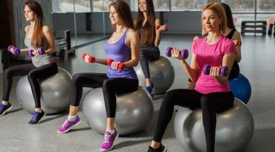 Занятие спортом — фитнес