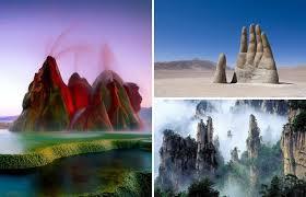 15 удивительных мест на Земле