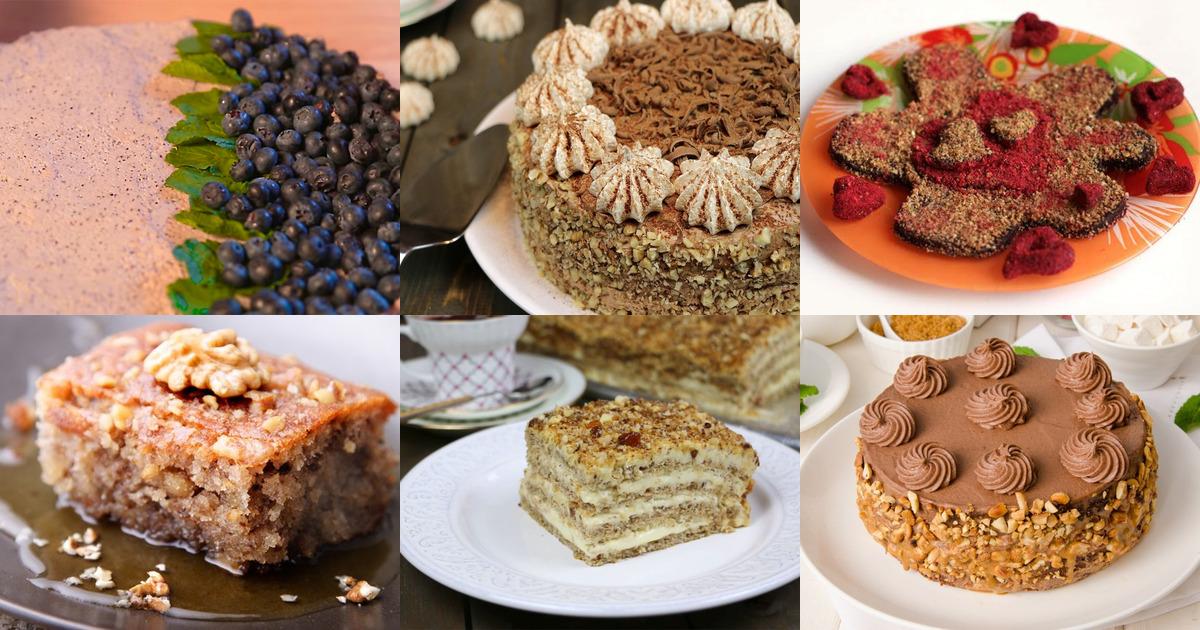 Торт «Ореховая маркиза»