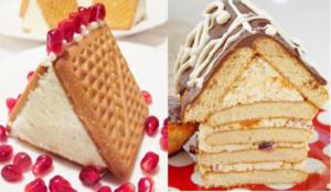 Творожный домик: витаминный тортик без выпечки