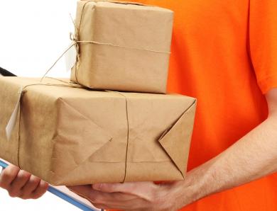 Получение товаров по почте