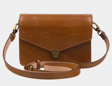 Мода на кожаные сумки